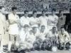 1961 - Em pé: Calvet, Zito, Dalmo, Jorge , Mauro e Lalá. Agachados: Sormani, Mengálvio, Coutinho, Dorval e Pepe.