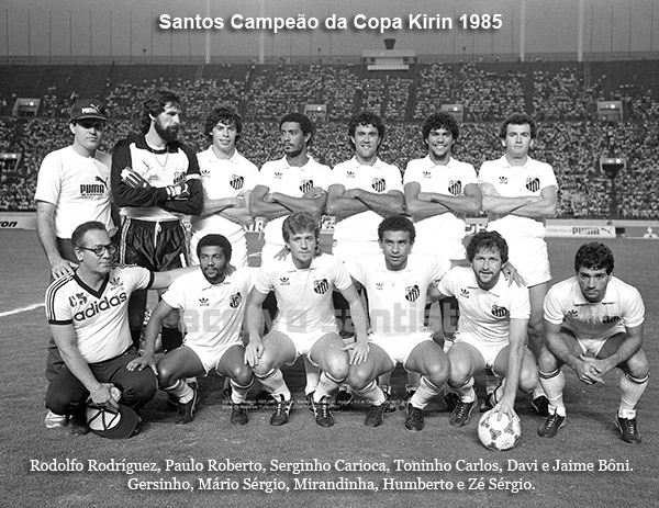 Santos Campeão da Copa Kirin de 1985