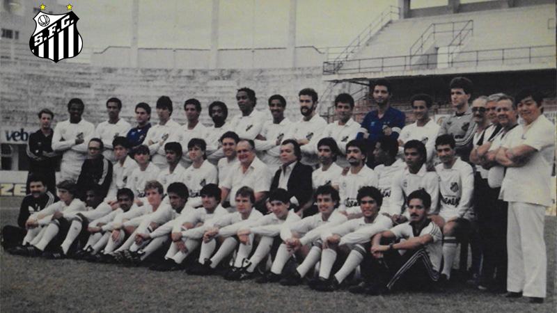 1986 - Elenco - Santos - Campeonato Paulista 2 - 800x450b