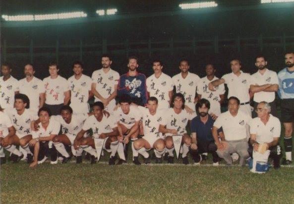 Elenco Brasileirão 1989 - Santos FC