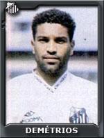 Demétrios veio do Botafogo (RP)... esperança santista de gols.