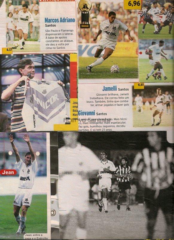 Revista Placar - Bola de Prata do Campeonato Brasileiro 1995