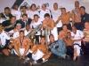 Campeões brasileiros no vestiário após a final. (2002)