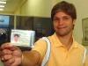 Diego completa 18 anos e tira sua carteira de motorista