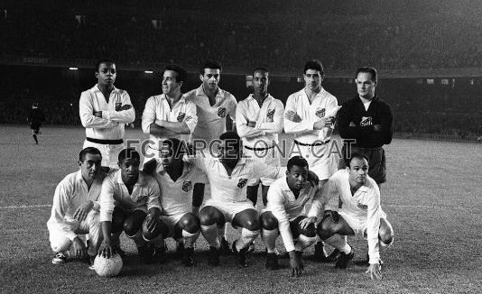 1963-06-12-santos-x-barcelona-espanha-formacao